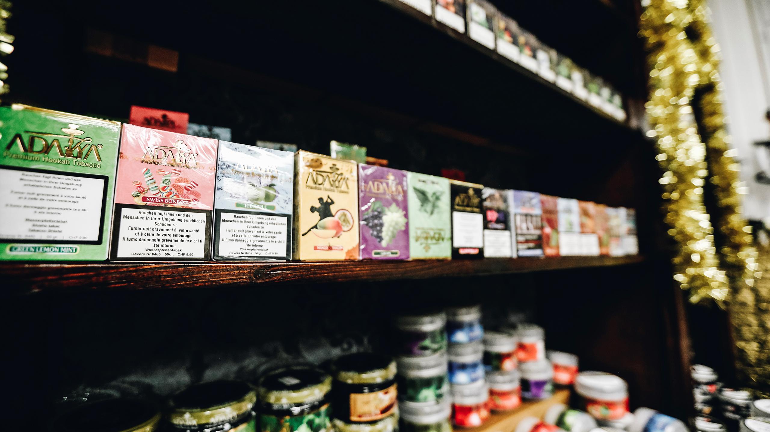 Shisha, Tabak und Zubehör online in der Schweiz kaufen